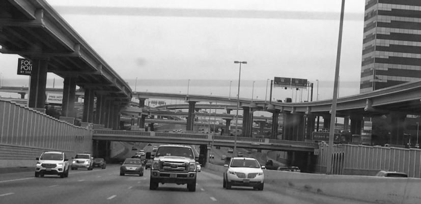 Intricate design of highways