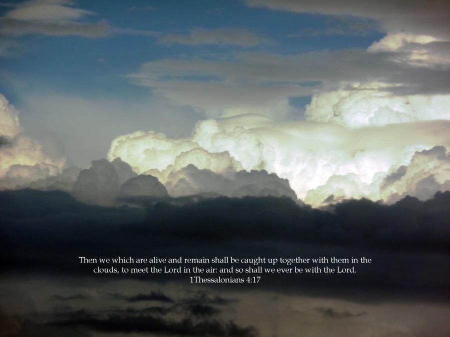Imagine God in the Clouds